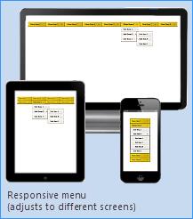 responsive menu