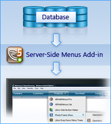 Server-Side Menu