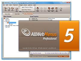 AllWebMenus screenshots