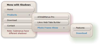 JavaScript Menu, DHTML Menu, Drop-Down Menu Builder  CSS
